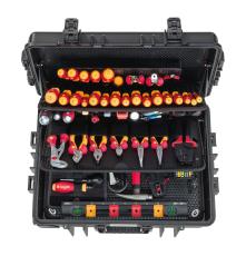 Wiha elektrikerværktøjskuffert competence XXL 2.0 med 115 de