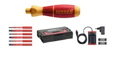 Wiha E-skruetrækker, speedE®, sæt 1