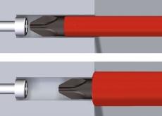 Wiha E-skruetrækker speedE® sæt 2, 13 dele