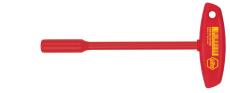 Wiha T-nøgle VDE-isoleret, top, 17 mm