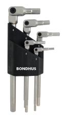 Bondhus HexPro stiftnøglesæt med holder, mm