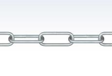Galvaniseret kæde