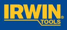 Irwin bræk af-kniv med tæppehage, 18 mm