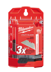 Milwaukee knivblad, trapez, 50 stk.