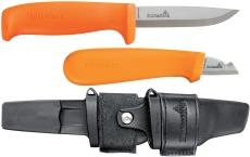 Hultafors håndværkerkniv HVK og elkniv ELK, i dobbeltskede
