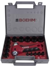 Boehm huggepibesæt JLB330PA, 3-30 mm, 16 dele
