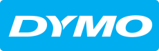 DYMO® XTL tape, vinyl, 19 mm, sort på orange