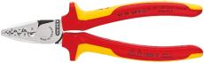 KNIPEX crimptang til kabeltyller, 180 mm