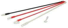 Super Rod SRPRS til korte træk, 5 stk. 33 cm plastik rods