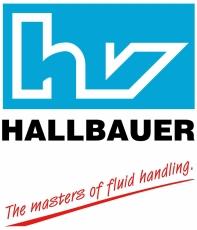 Hallbauer en-hånds fedtpresse