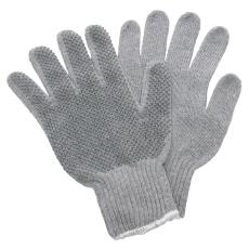 Strikhandske med dot, str. XL
