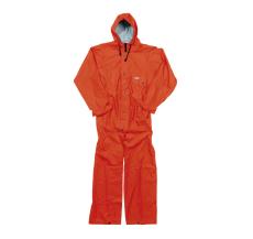 PU regndragt normal orange, str. M