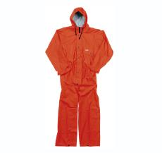 PU regndragt normal orange, str. XL
