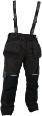Abeko kraftig, åndbar, sort regnbuks, model ROCKY, str. XL