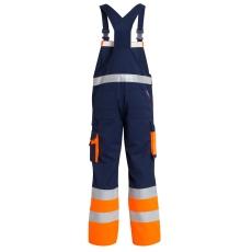FE Engel EN 20471 marine/orange overall, klasse 1, str. 112