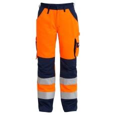 FE Engel buks 2501, EN 20471 orange/marine, str. 80