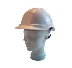 Balance AC sikkerhedshjelm med visir, hvid