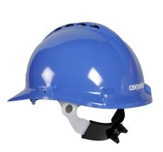 Centurion sikkerhedshjelm med nakkeskrue, blå