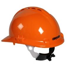Centurion sikkerhedshjelm med nakkeskrue, orange