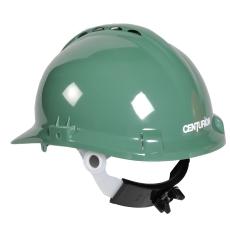 Centurion sikkerhedshjelm med nakkeskrue, grøn