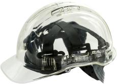 Portwest PV54 gennemsigtig letvægtssikkerhedshjelm, klar