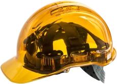 Portwest PV54 gennemsigtig letvægtssikkerhedshjelm, orange