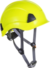 Portwest PS53 sikkerhedshjelm uden skygge, gul