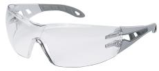 Sikkerhedsbrille Uvex Pheos, grå med klar linse
