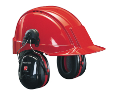 Peltor OPTIME 3, høreværn til hjelmmontering