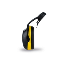 Kask kophøreværn til hjelm CS2, sort/gul