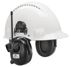 Peltor DAB+ FM-radio høreværn, hjelmmontering, HRXD7P3E-01