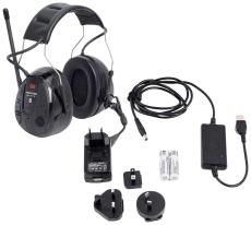Peltor WS™ Alert XP høreværn med FM-radio og Bluetooth