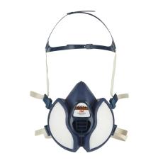 3M halvmaske, klar til brug med filter FFA1P2D