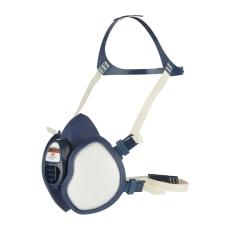3M halvmaske, klar til brug med filter FFA2P3D