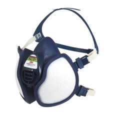 3M halvmaske, klar til brug med filter FFABEK1P3D
