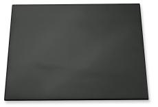 Skriveunderlag, 52 x 65 cm, sort med transparent dækplade