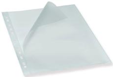Bantex plastomslag, A4, åbning i top og langs hulkant, 0,12