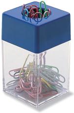 Clipsholder, transparent plast med magnetisk top