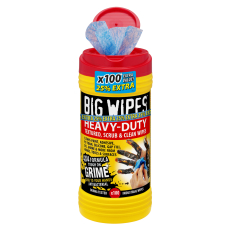 BIG WIPES Heavy-duty renseservietter, 100 stk.