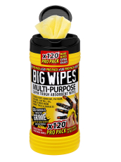 BIG WIPES Multi-purpose renseservietter, 120 stk.