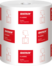 Katrin håndklæderulle, Classic, hvid, 2-lags