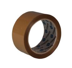 Emballagetape, brun, 50 mm x 66 m