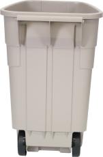 RCP mobil affaldscontainer, brun plast, 100 l