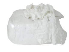 Hvide frotteklude, 10 kg