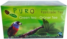 Puro te, Green tea