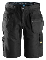 Snickers shorts med hylsterlommer, 6101 LiteWork 37.5™, sort