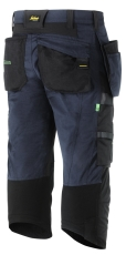 Snickers FlexiWork piratbuks, hylsterlommer, 6905, navy, str