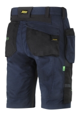 Snickers FlexiWork shorts med hylsterlommer, 6904, navy, Str