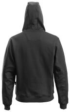 Snickers hættetrøje, 2801 m/lynlås sort, str. XS