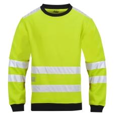 Snickers mikrofleece-sweatshirt, 8053, gul, klasse 3, str. L